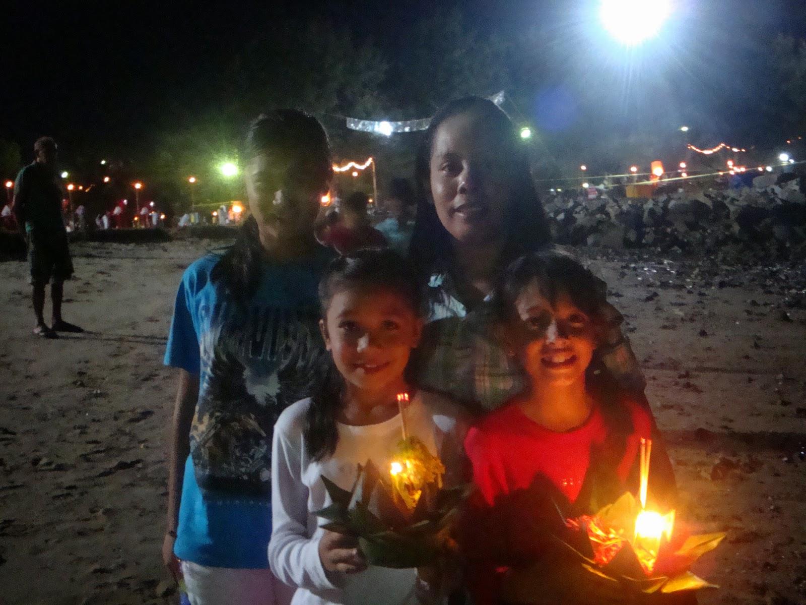 Loy Kratong night in Kathu