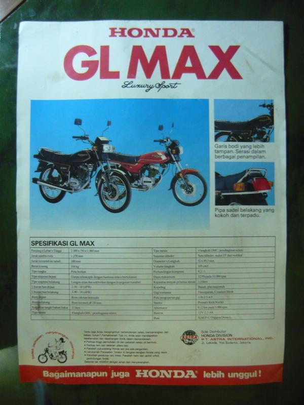 Iklan Jadul Honda Gl Pro