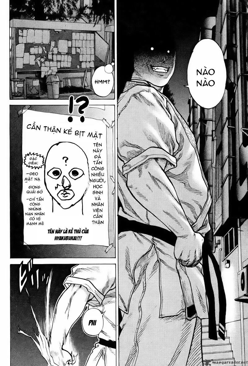 Karate Shoukoushi Kohinata Minoru chap 1 Trang 11