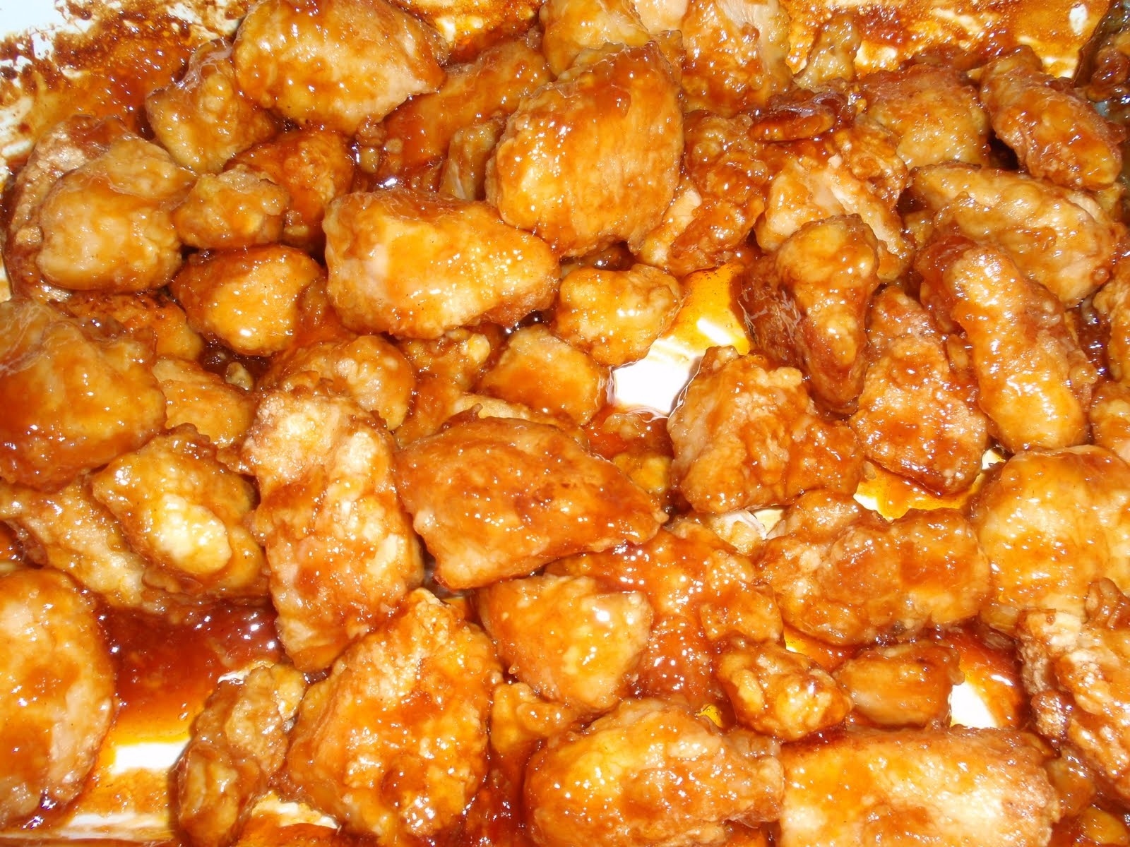 My Italian Grandmother: Sweet and Sour Chicken