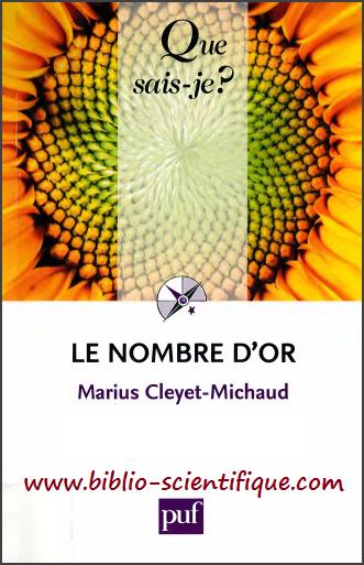 Livre : Le nombre d'or - Marius Cleyet-Michaud