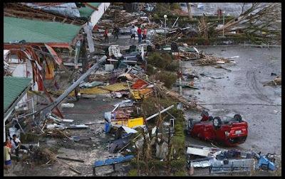 "Tacloban City, hardest hit  by Typhoon ""Yolanda"""