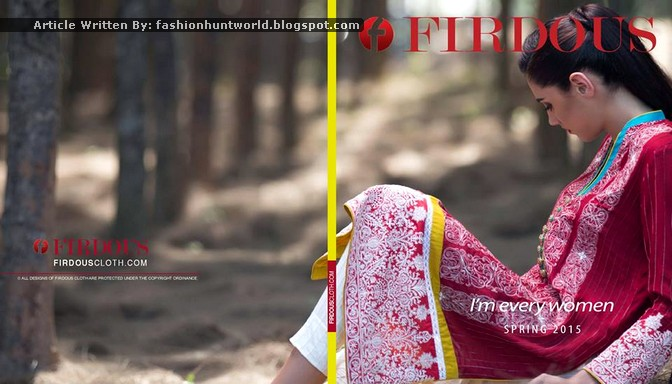 Firdous Fashion Spring Summer 2015 Collection