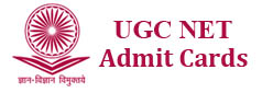 ugc net admit cards