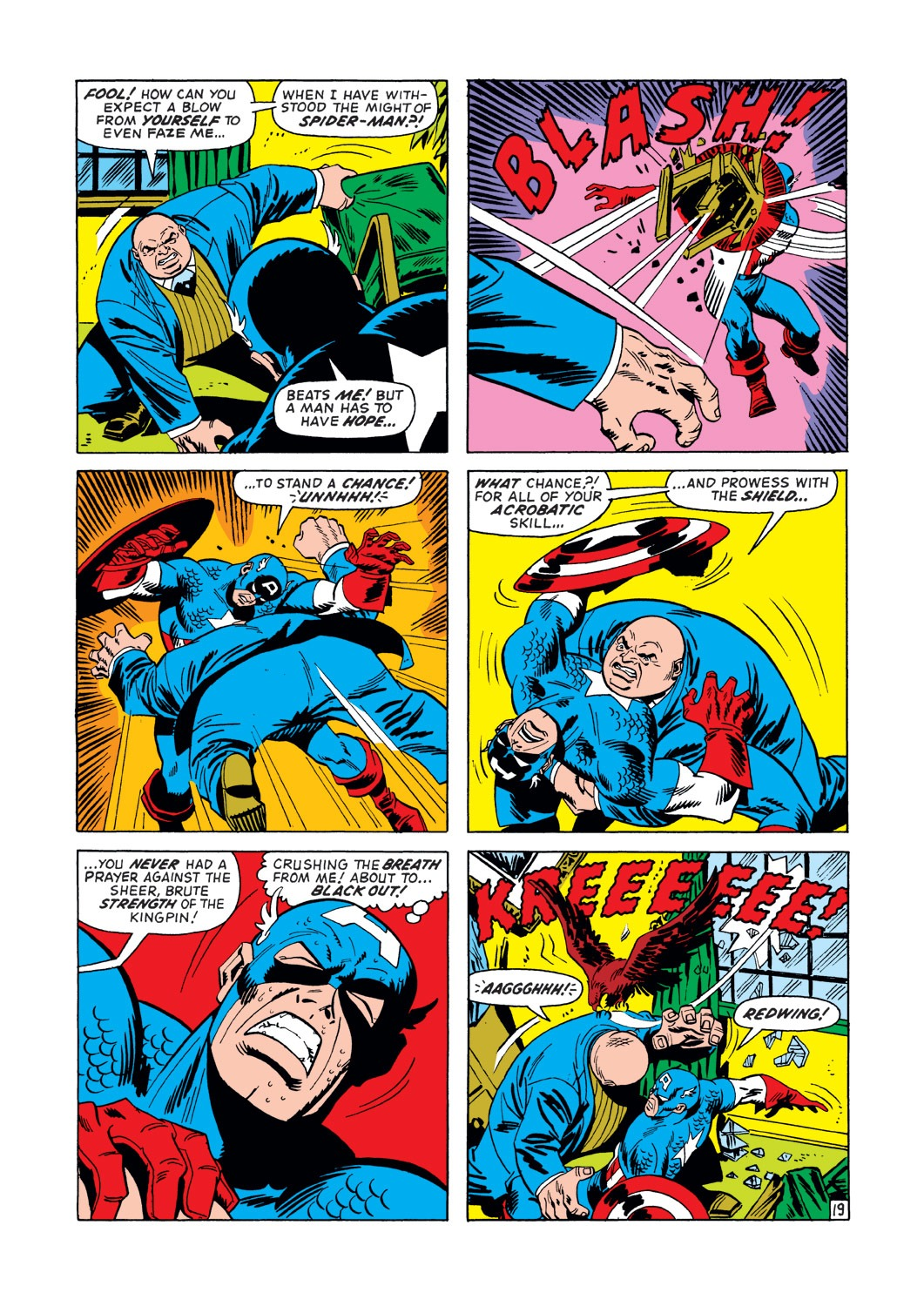 Captain America (1968) Issue #147 #61 - English 20
