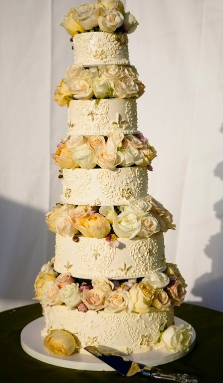 My perfect wedding cake: Fresh Flower Wedding Cakes