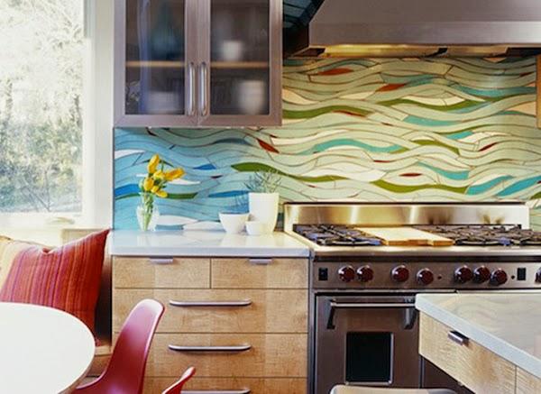 creative kitchen backsplash ideas 2015 houten keuken creative kitchen backsplash ideas