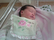 Nasceu Catharina, dia 04/05/2011