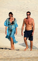 English: Cindy Crawford Black Bikini Rande Gerber Mexico