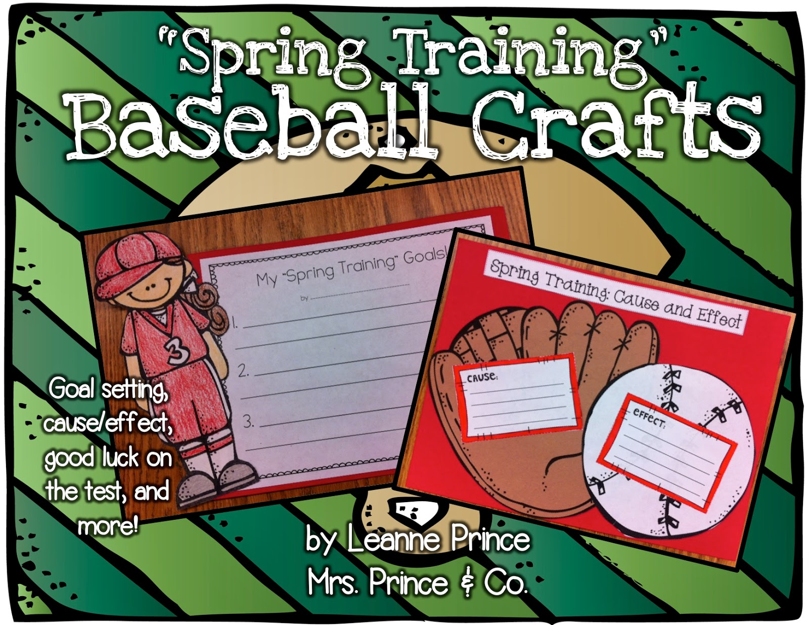 http://www.teacherspayteachers.com/Product/Baseball-Crafts-642547