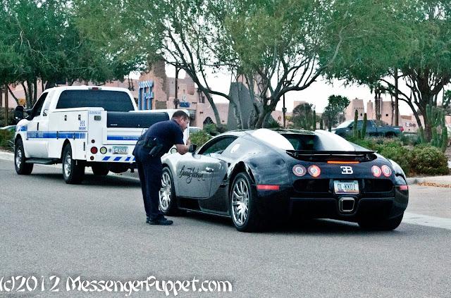 Bugatti Veyron Cop