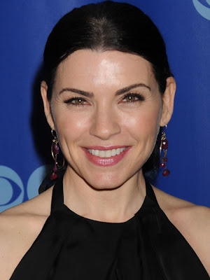 Julianna Margulies Dangling Gemstone Earrings