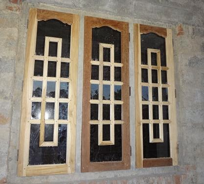 New kerala style window models and designs 2013 kerala for Window door design