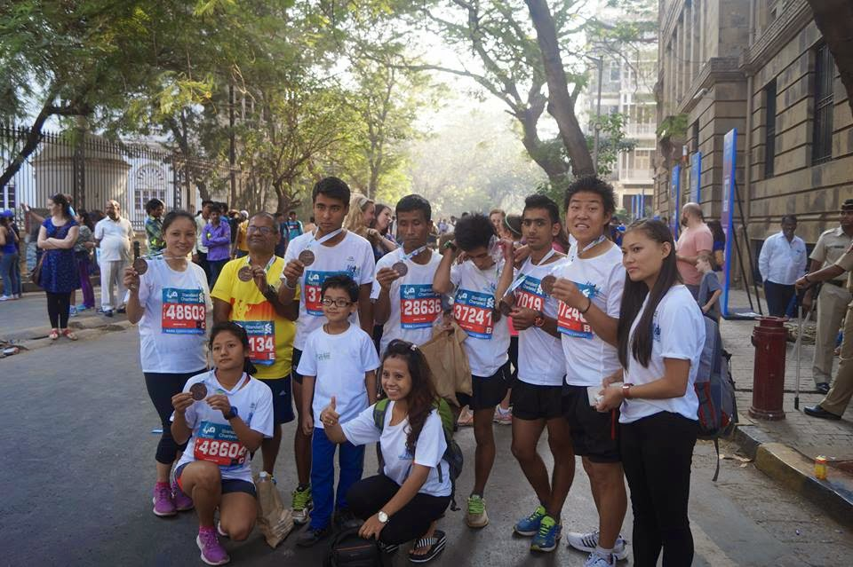 Team Run with Roshni in Mumbai Marathon