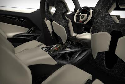Lamborghini Urus Interior.