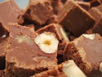 Fudge de Avelã e Chocolate (vegana)