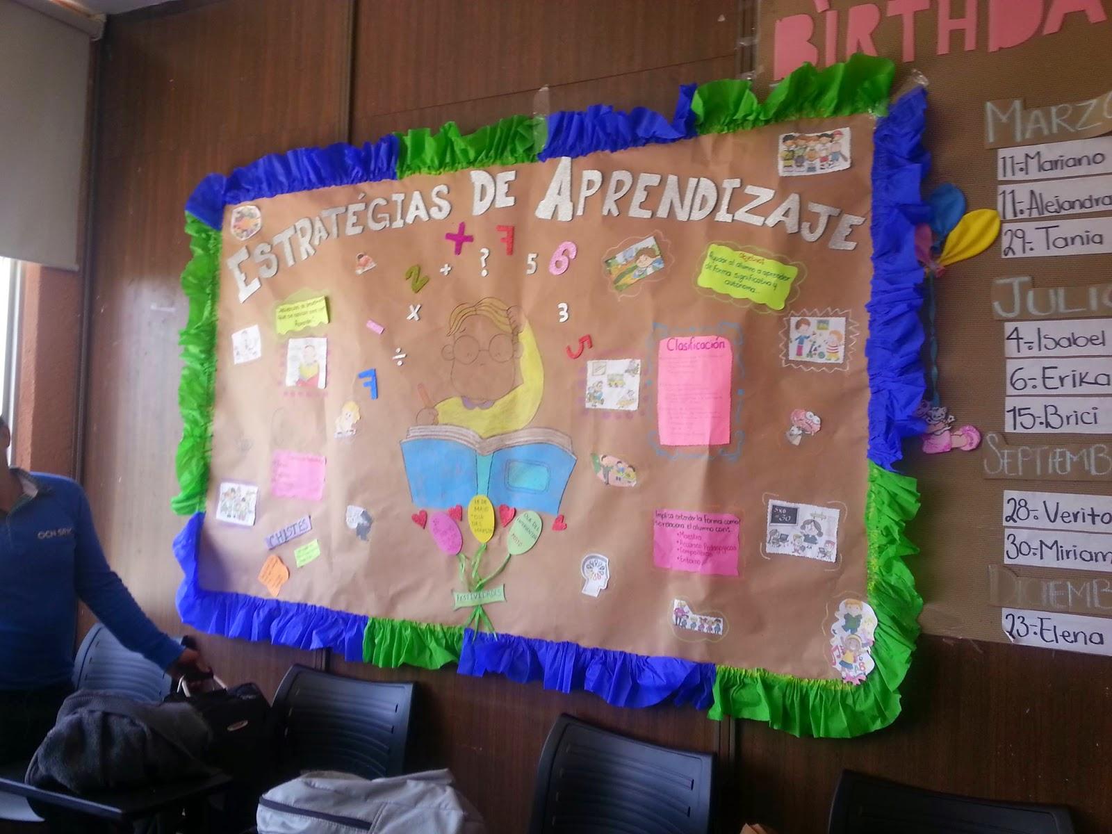Ambientes de aprendizaje for Como decorar un mural