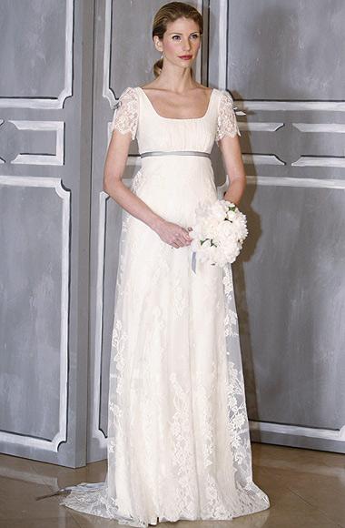 una boda convencional pero diferente: vestidos de novia muy