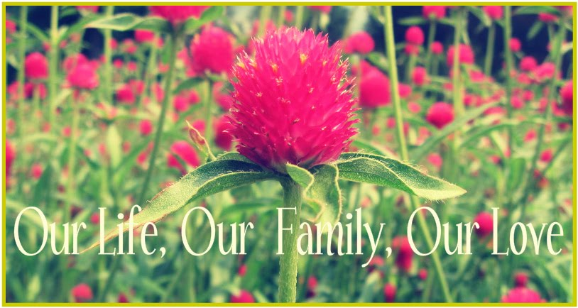 Our Life, Our Family, Our Love.