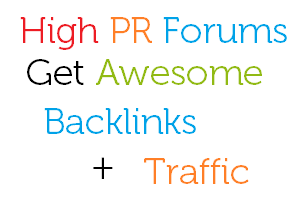 High PR Forums That Can Bring You High Traffic