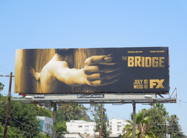 Bridge US remake TV billboard