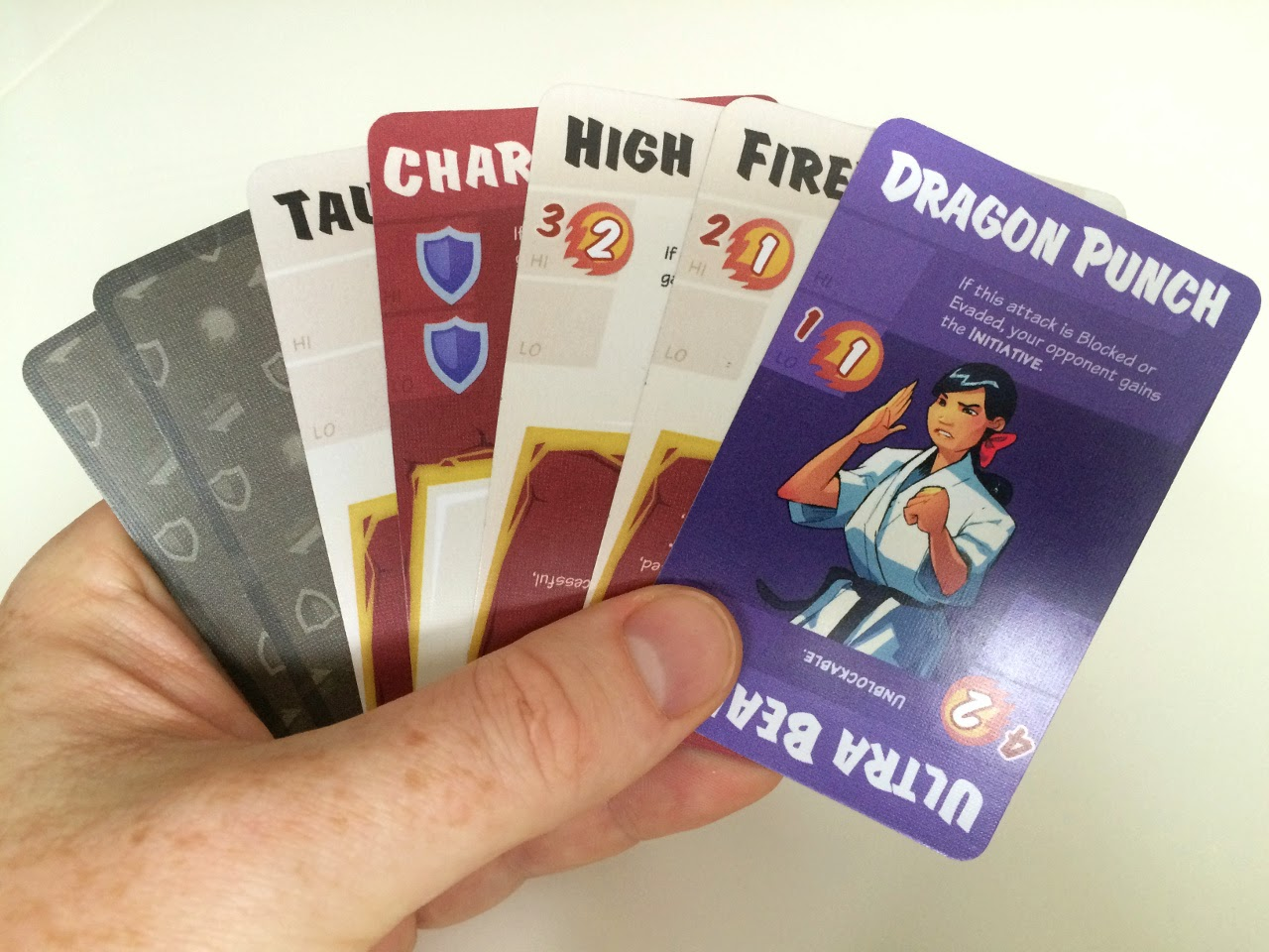 Dragon Punch Kickstarter review fireball