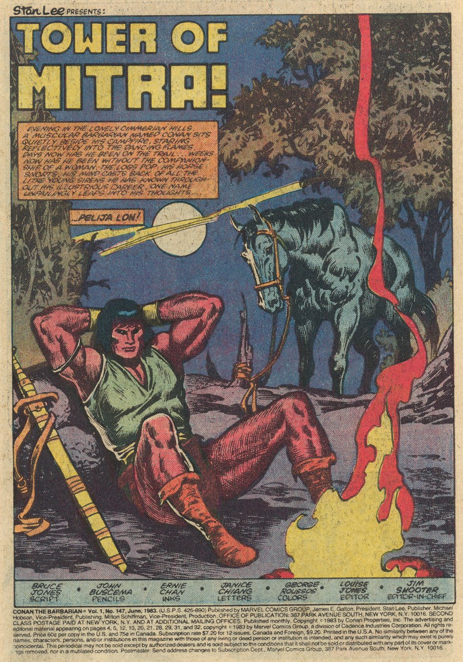 Conan the Barbarian (1970) Issue #147 #159 - English 4