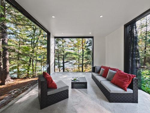 Hill Maheux Cottage porch