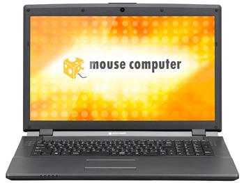 Mouse Computer MB-W901X2-SH 17.3-Inch Notebook