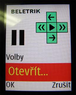 Beletrik - otevřít
