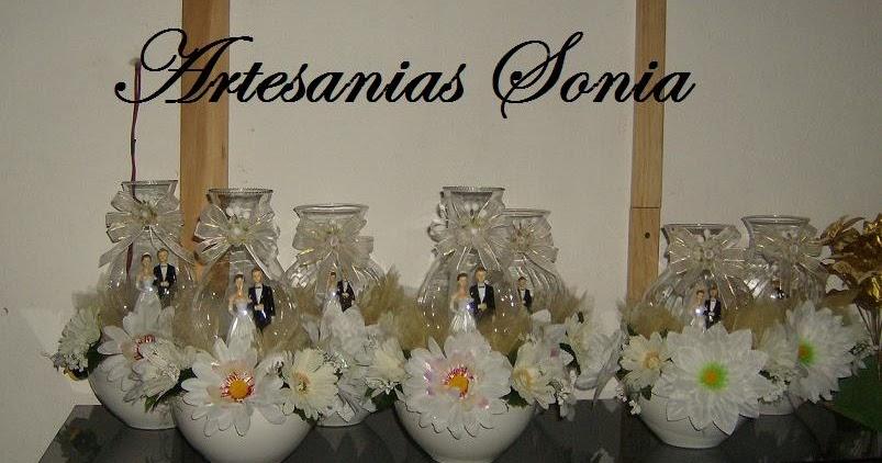 Artesanias sonia centros de mesa para boda - Centros de mesa para bodas economicos ...