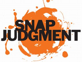 snap judgment Kcur 893 presents snap judgment live snap-approved image snap judgment, the public radio storytelling phenomena, thrills kansas city audiences on kcur 893 every week this october, kcur 893 is bringing glynn washington and the rest of the snap judgment crew to the folly theater for a.