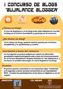 Primer premio del concurso de blogs de Bujalance