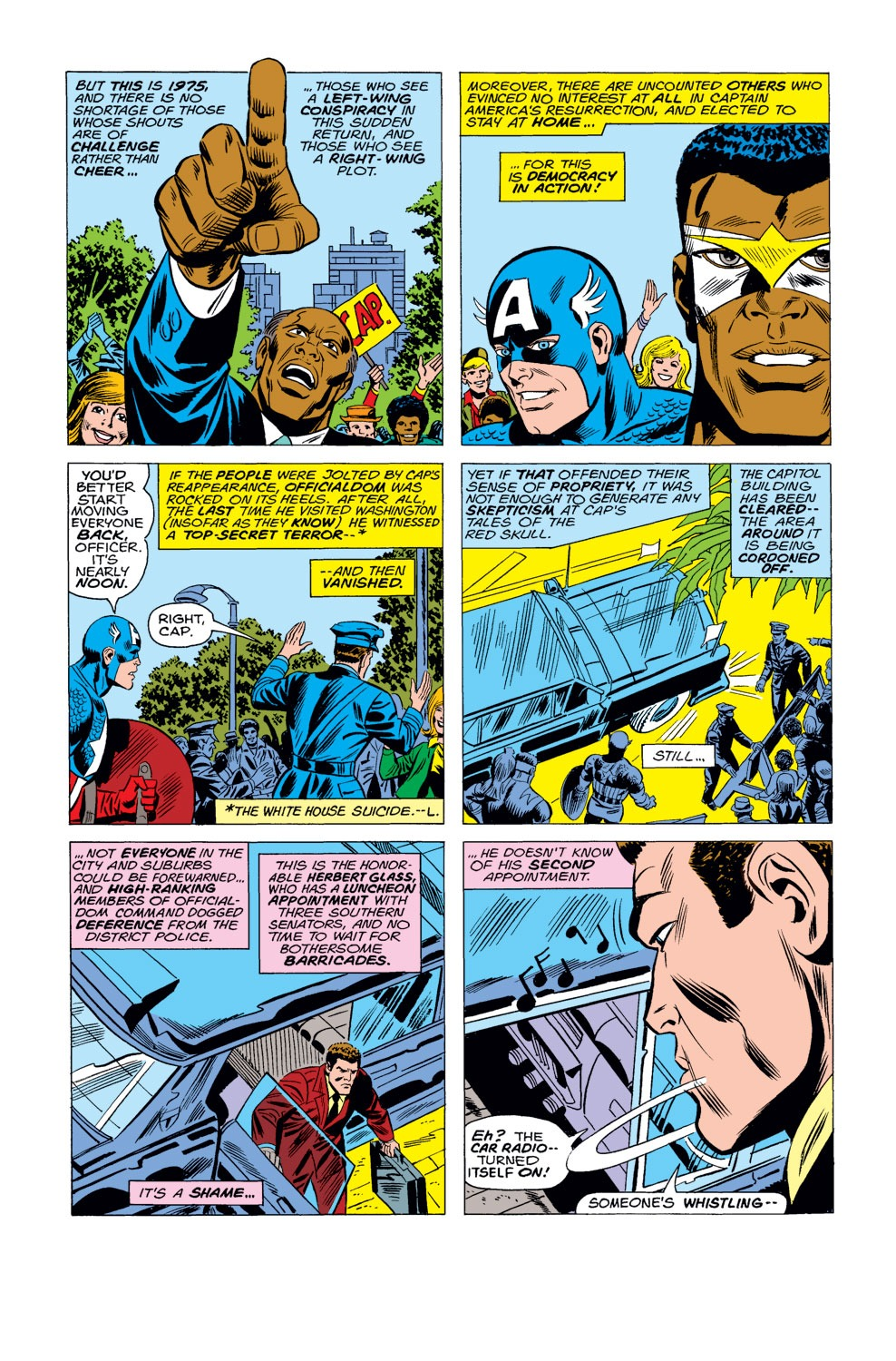 Captain America (1968) Issue #184 #98 - English 9
