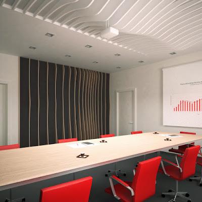 Дизайн кабинета директора и дизайн переговорной