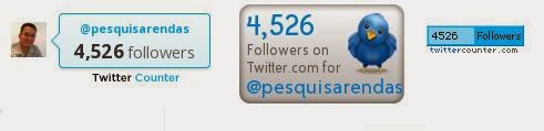 Quem tem mais seguidores no Twitter no Mundo - 2014 2