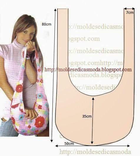 Как сшить сумку через плечо выкройки из джинсы