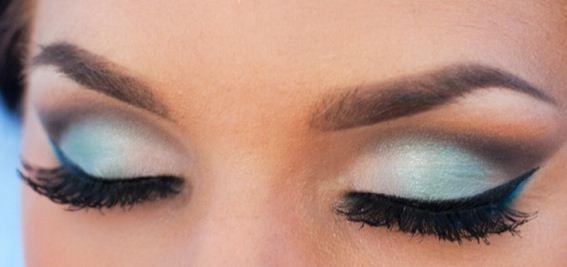 imgenes de ojos maquillados