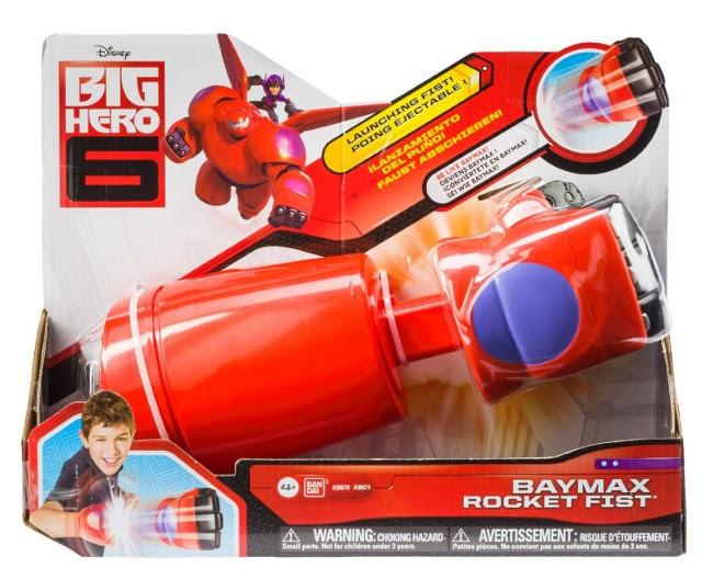 JUGUETES - DISNEY Big hero 6 - Puño de ataque Producto Oficial | Bandai | A partir de 4 años