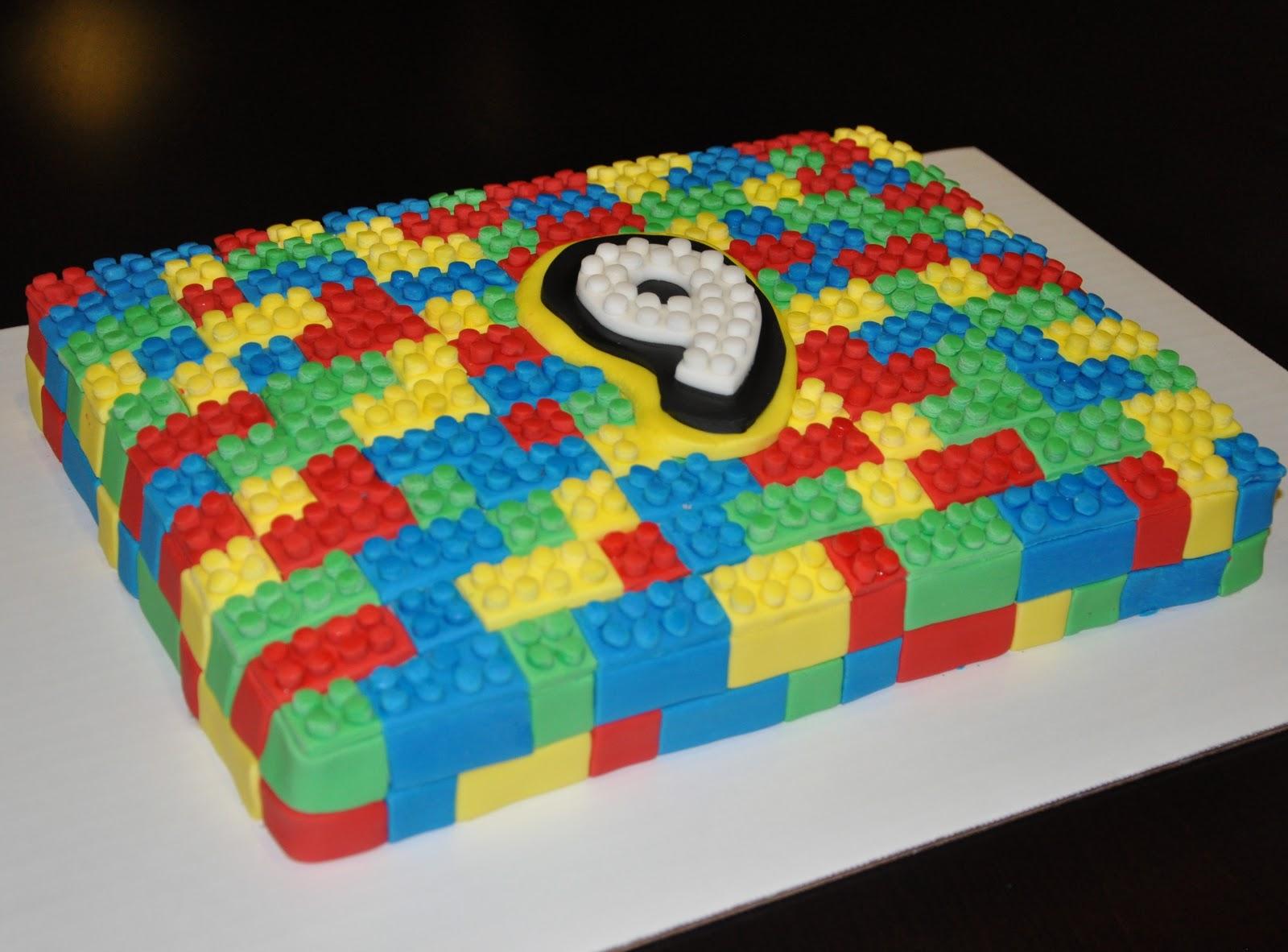 Cake Designs Lego : Lady Cupcake s Corner: Lego Cake