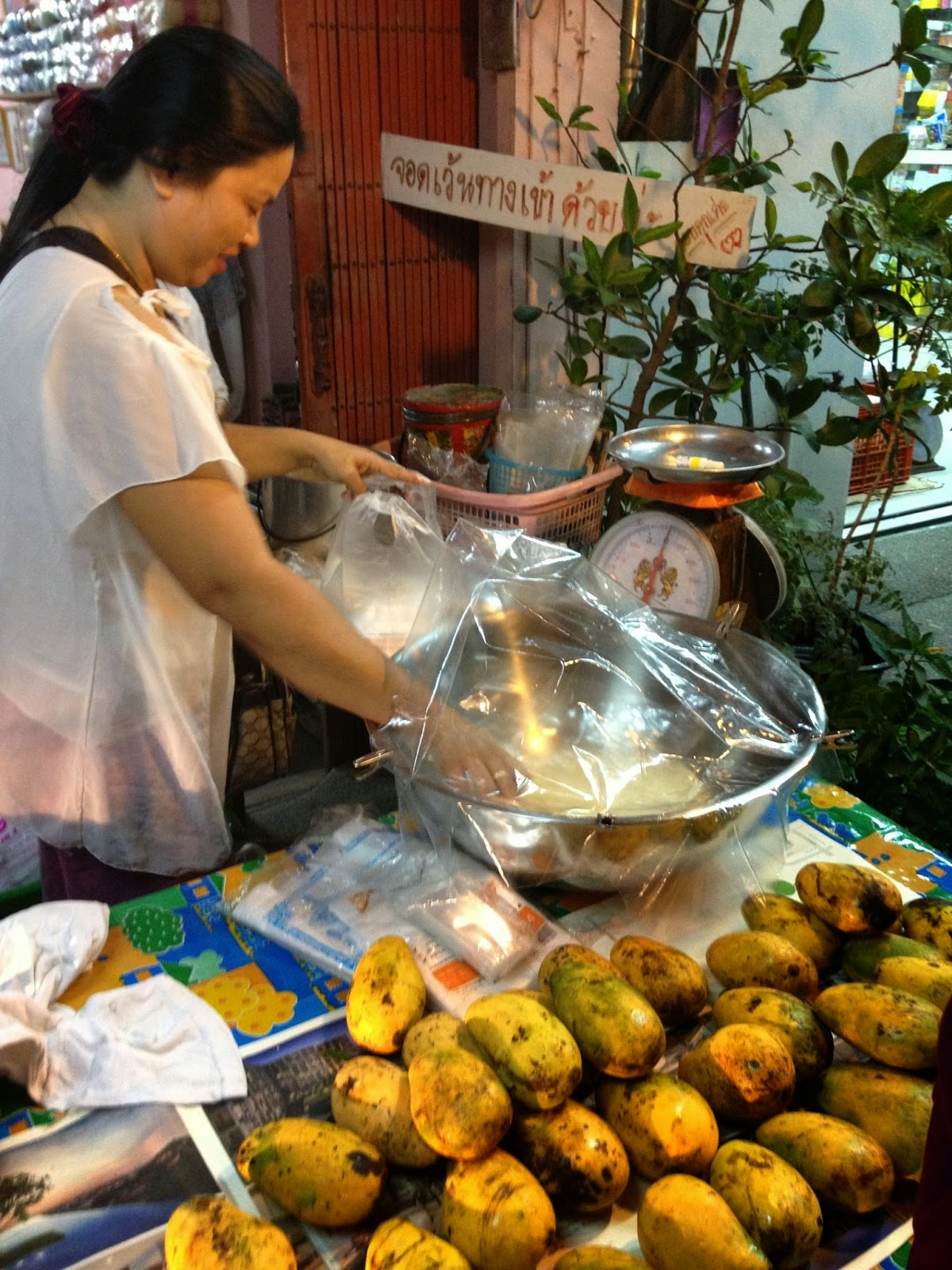 how to make mango and sticky rice