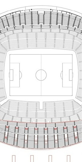 ** Plano Nuevo Estadio