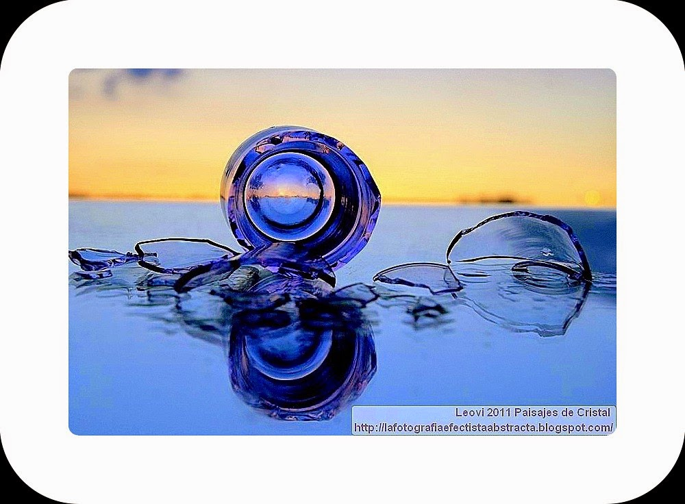 Abstract Photo 3243 Crystal Landscape 172   If I could break eternity ... -  Si pudiera romper la eternidad...