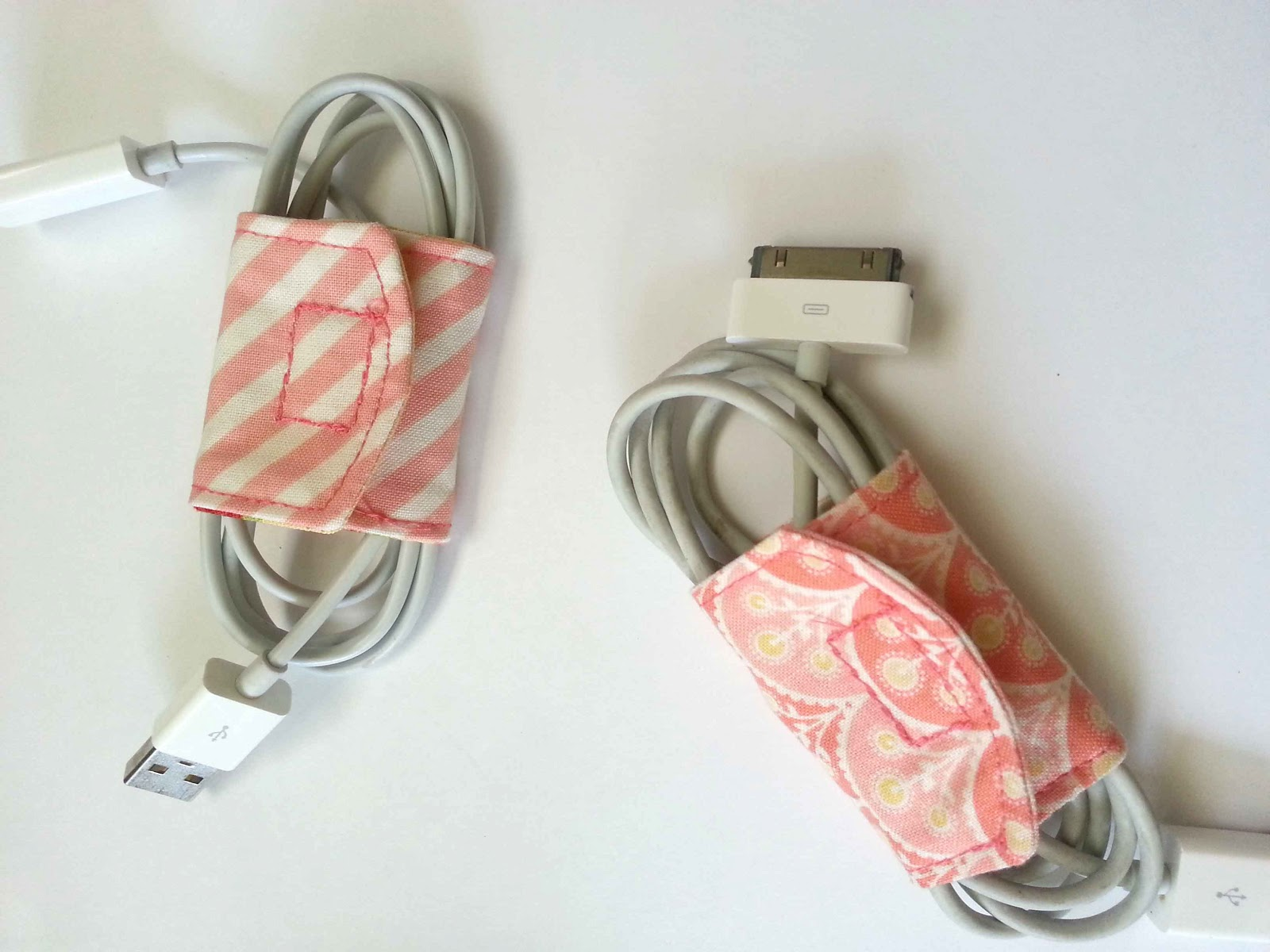 Made by me shared with you tutorial diy cord keeper Charger cord organizer diy