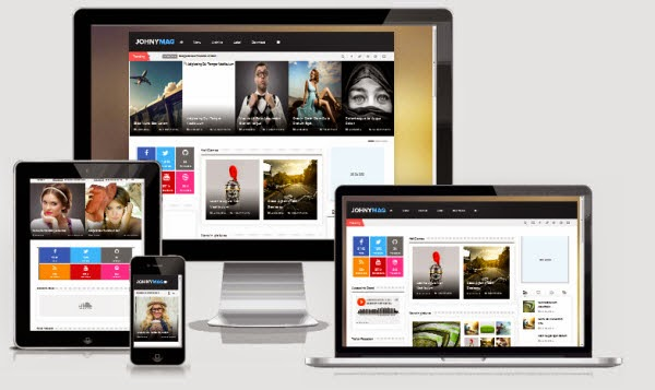 Johny Mag Responsive Template
