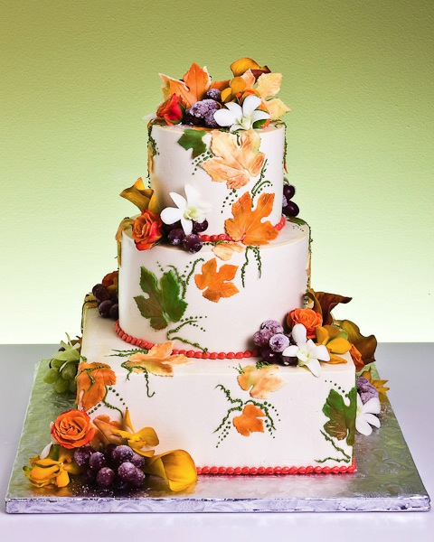 All Things Wedding Fall Wedding Cake Ideas For You