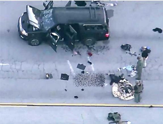 Policías en California