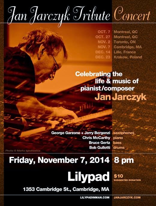 Celebrating the life and music of pianist and composer, Jan Jarczyk.