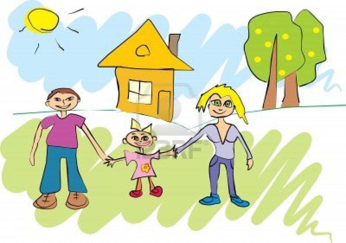 Картинки детские семьи