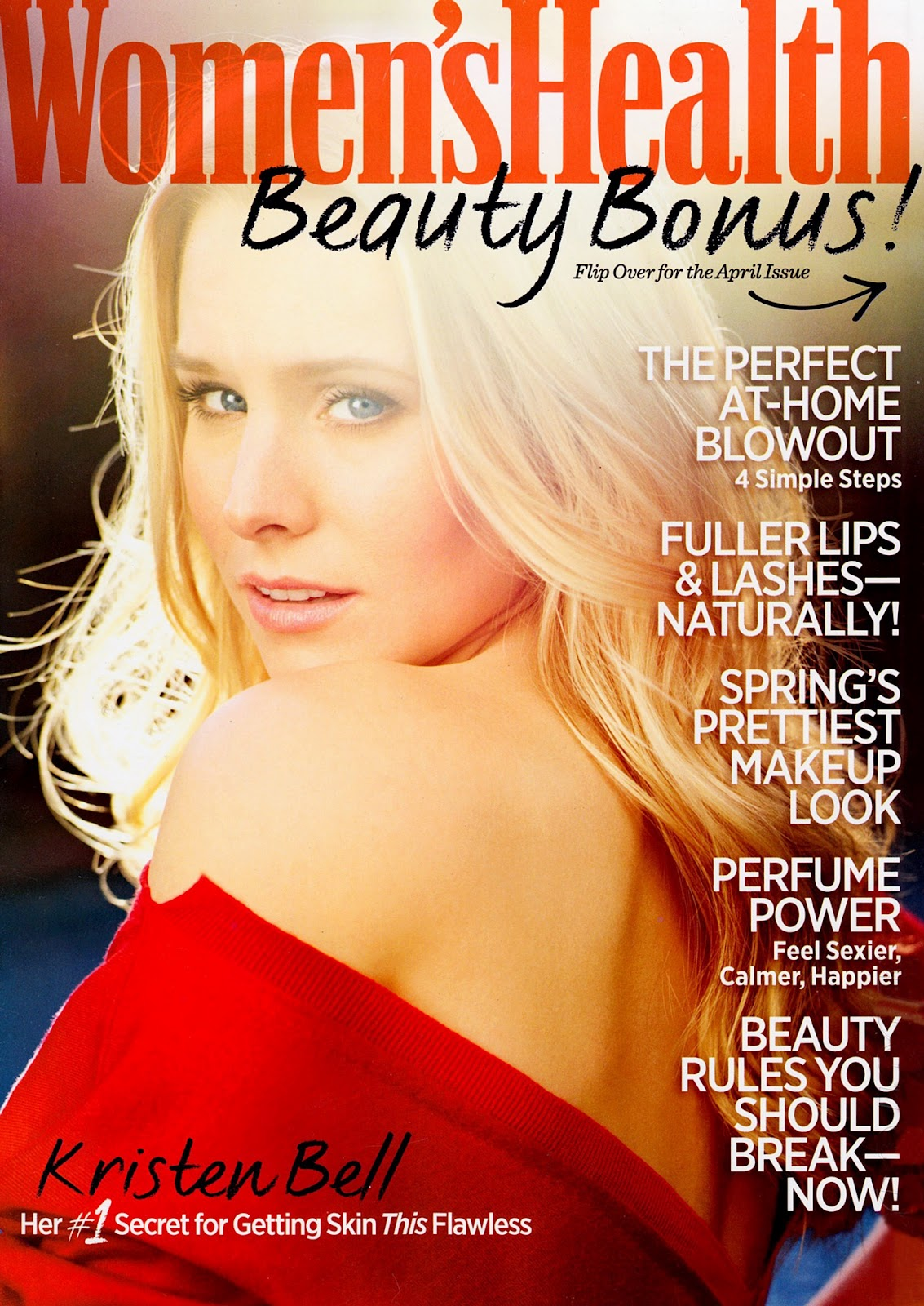 The magazine stand kristin bell for the april 2012 issue for Pioneer woman magazine second issue
